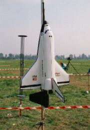 Space Shuttle Modellrakete